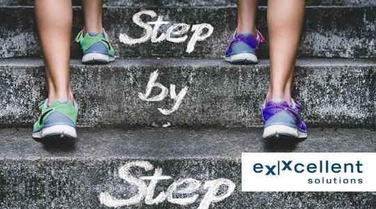 eXXcellent solutions - Step by Step zur erfolgreichen Softwareeinführung